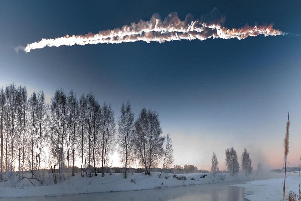 Chelyabinsk asteroid 15.02.2013