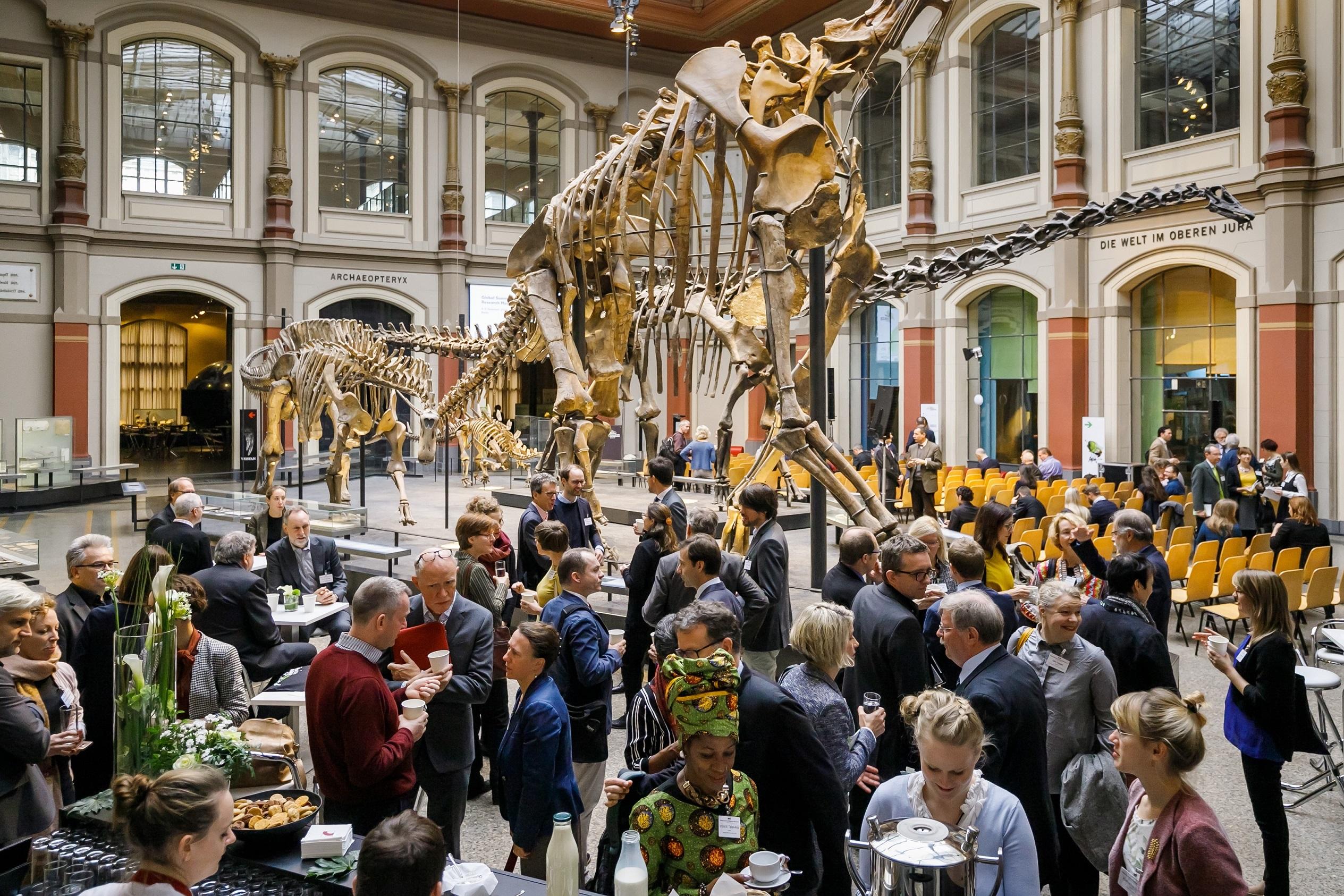 An der weltweit ersten Konferenz von Forschungsmuseen haben vom 4. bis zum 6. November 2018 insgesamt 232 Museumsvertreterinnen und -vertreter von 109 Einrichtungen aus insgesamt 24 Ländern teilgenommen.