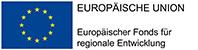 Logo der Europäischen Union, Europäischer Fonds für regionale Entwicklung EFRE