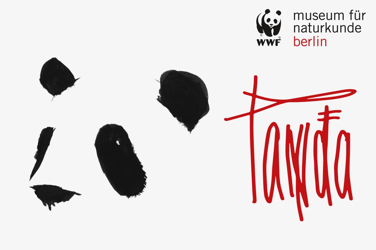 """Das Foto zeigt das Plakat für die Sonderausstellung """"PANDA""""."""
