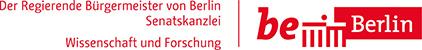 Logo Wissenschaft und Forschung Senatskanzlei Berlin