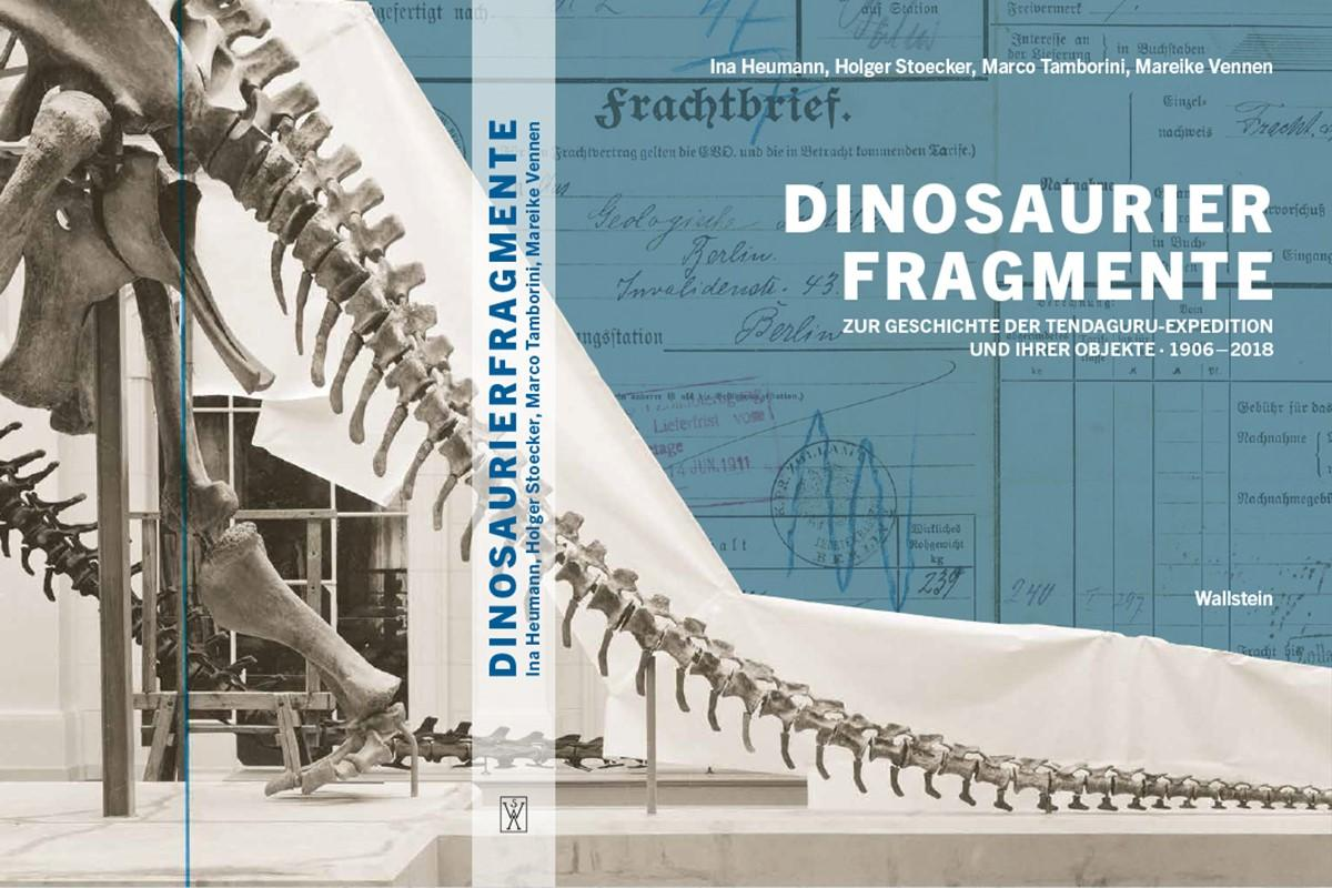 Buch Cover Dinosaurierfragmente