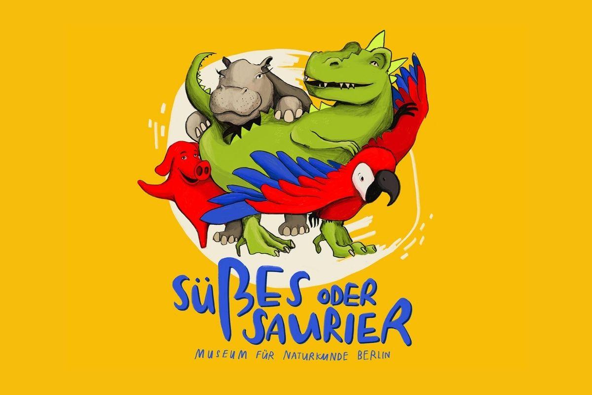Süßes oder Saurier, der Kinder-Podcast aus dem Museum für Naturkunde Berlin