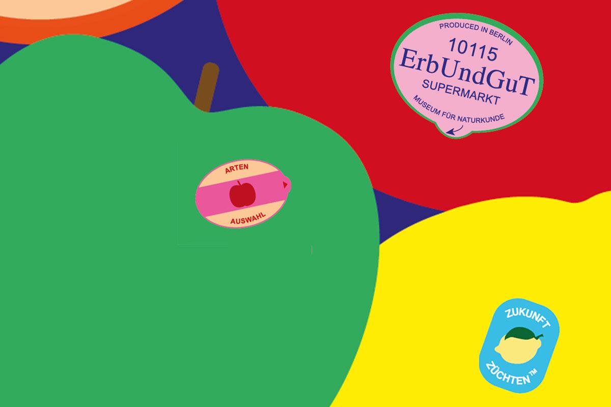 Poster für Supermarkt-Experimentierfeld GenomElection