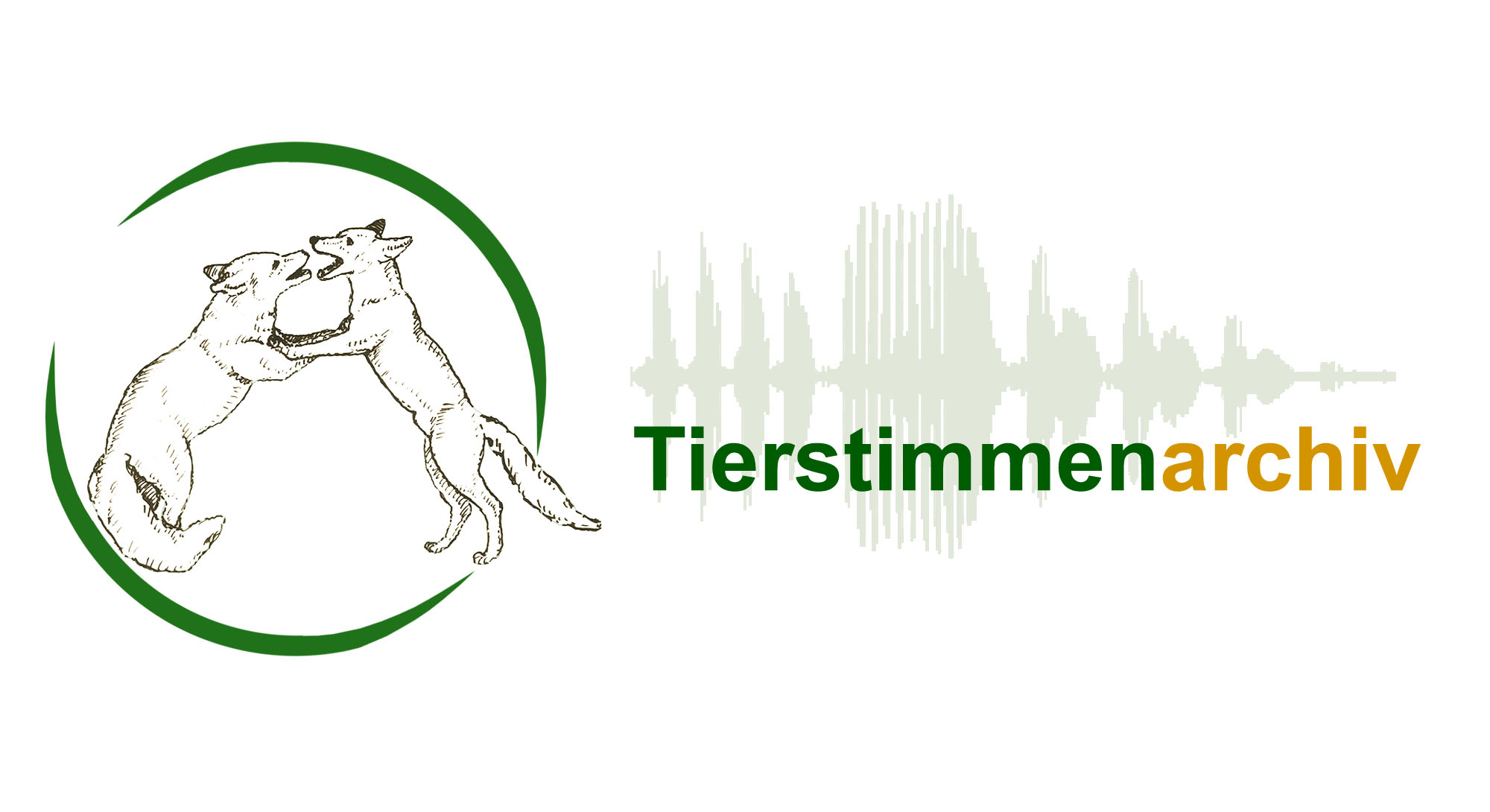 Logo des Tierstimmenarchivs